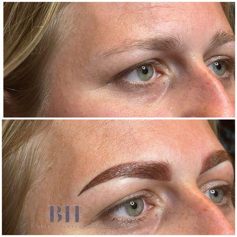 beauytvit huidverbetering permanente make up ombre brows