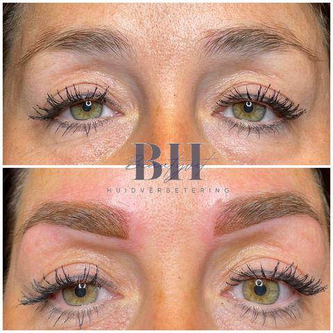 Beautyvit huidverbetering permanente make up ombre brows