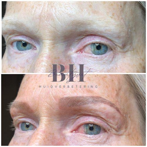 Beuatyvit huidverbetering permanente make up wenkbrauwen